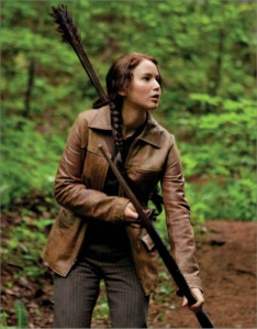 Katniss chassant